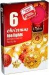 PODGRZEWACZ 6 SZTUK TEA LIGHT Christmas