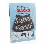 Ręcznik Super Facet z ozdobną wkładką kolor szary