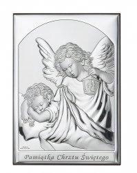 Obrazek Aniołek z latarenką 'Pamiątka Chrztu św'