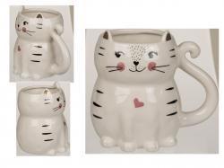 Kubek ceramiczny Kot