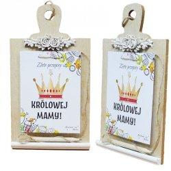 Tabliczka notes Złote przepisy Królowej mamy, mix kolorów