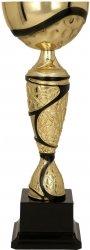 Puchar metalowy złoto-czarny
