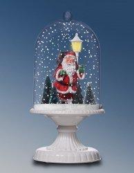 Lampa stołowa bożonarodzeniowa z mikołajem