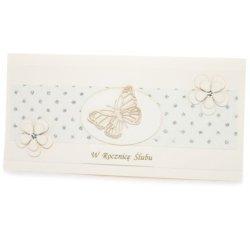 Kartka W Dniu Ślubu, motylek