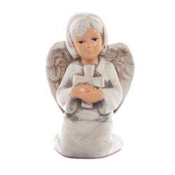 Aniołek Komunia z Krzyżem