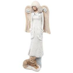 Anioł z pieskiem