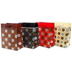 Torebka prezentowa kółka, mix wzorów