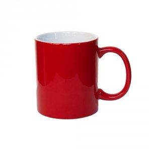 Klasyczny kubek w kolorze czerwonym 330ml