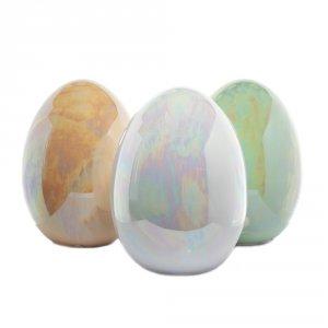 Jajo cermiczne 13x13x18 cm, mix kolorów