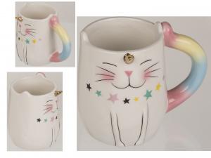 Kubek ceramiczny Kot - Jednorożec