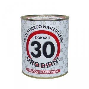 Skarbonka metalowa 30 lat