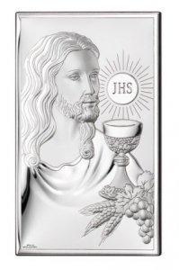 OBRAZEK JEZUS PAMIĄTKA I KOMUNI SWIĘTEJ 6,5x11 CM