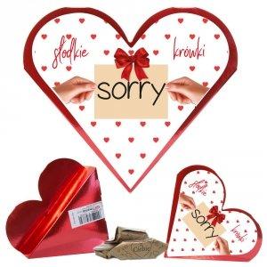 Serce słodkie krówki Sorry