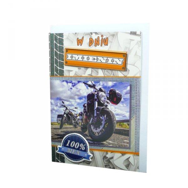 KARTKA URODZINOWA 3D  W DNIU IMIENIN (DK 001 053)