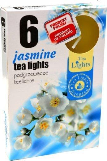 """PODGRZEWACZ 6 SZTUK TEA LIGHT """"Jasmine"""""""