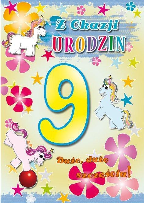 Kartka Z okazji urodzin 9