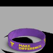 Opaska silikonowa Make Difference - WRISTBAND 018