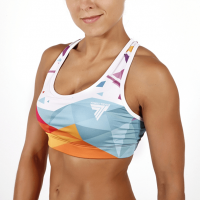 WOMEN'S TREC WEAR - SPORT BRA 001/MULTI