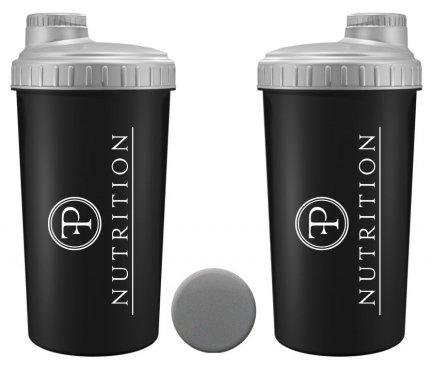 Szejker PF Nutrition Black & Silver 0,7l