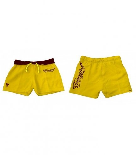 Trec Wear SHORT PANTS TRECGIRL 01 YELLOW