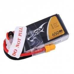 Akumulator Tattu 650mAh 3S 75C - Li-pol Gens Ace 11,1V